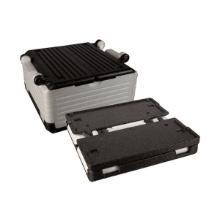 Termokasse Flip-Box 23 ltr 40x40x22 cm med Låg EPP Grå/Hvid product photo