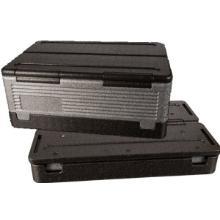 Termokasse Flip-Box 39 ltr 60x40x25 cm med Låg EPP Grå product photo
