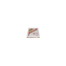Pizzaæske 32x32x3 cm hvid med tryk Pizza Buon Appetito product photo