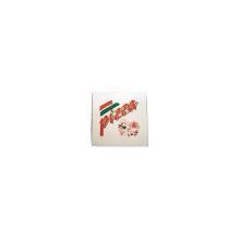 Pizzaæske 50x50x5 cm hvid med tryk Pizza Buon Appetito product photo