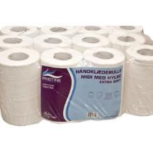 Håndklæderulle Pristine Extra soft mini 2 lag 70 meter nyfiber med hylse product photo
