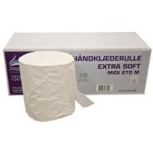 Håndklæderulle Pristine Extra soft 1-lag 270 m uden Hylse Nyfiber product photo