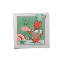 Pizzaæske 26.5x26.5x3 cm Hvid med Logo I Love Pizza product photo
