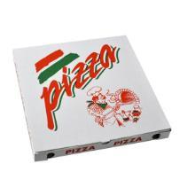 Pizzaæske 30x30x3 cm Standard Hvid med Tryk PizzaPizza product photo