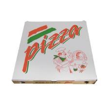 Pizzaæske 50x50x7 cm Standard Hvid med Logo Pizza Buon Appetito product photo
