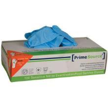 Handske Engangs Prime Source Sensitiv str XXL uden Pudder Nitril AQL 1.5 Blå product photo