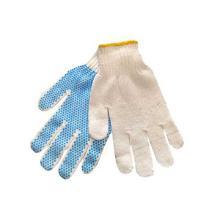 Handske str 9 med Dotter Strik Hvid product photo