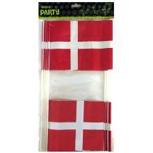 Flag Dannebrog A5 på plastpind product photo