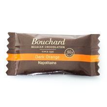 Chokolade Mørk Bouchard med orange smag 5 gr pr stk 200 stk pr krt product photo