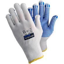 Handske Tegera 630 str L med Dotter Strik Nylon Hvid product photo