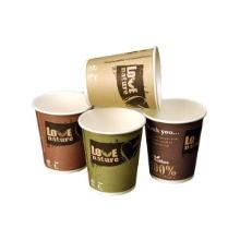 Kaffebæger Pap/PLA 40 cl Ø90 mm Bioware Bionedbrydelig PEFC-certificeret product photo
