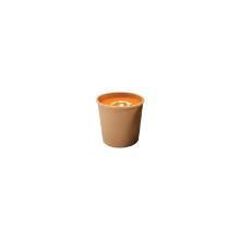 Papbæger Soup-To-Go 350 ml Ø90/73x86 mm Brun product photo