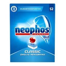 Maskinopvask tabs Neophos Classic til husholdningsmaskiner 52 stk product photo