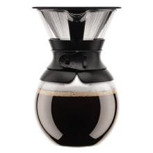 Kaffebrygger Bodum Pour Over 1 ltr med Filter Glas/Silikone Sort product photo