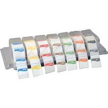 Datomærkning Kit i Plastbakke Etiketter for hver dag product photo