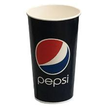 Papbæger 50 cl Pepsi Ø90x157 mm Kolddriksbæger Blå tryk product photo