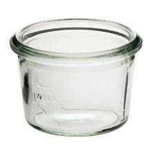 Patentglas Weck 80 ml Ø6.8x4.65 cm uden Låg Glas product photo