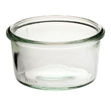 Patentglas Weck 370 ml Ø10.8x6.9 cm uden Låg Glas product photo