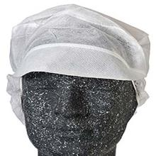 Hygiejnehat Snood cap str M med Skygge/Hårpose Hvid product photo