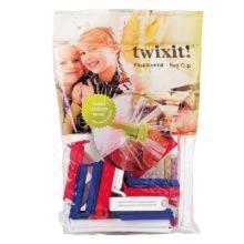 Plastklemme Twixit 15 stk á 6 cmed 5 stk á 11 cm. PP product photo