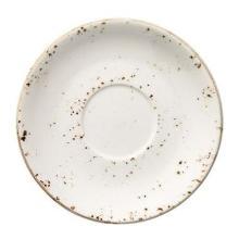 Underkop Bonna Grain Ø16 cm Porcelæn Hvid med Brun stænk product photo