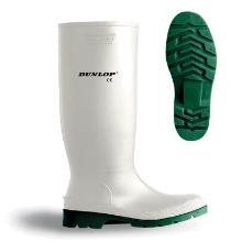 Gummistøvler Dunlop Pricemastor str. 46 Hvid/Grøn product photo
