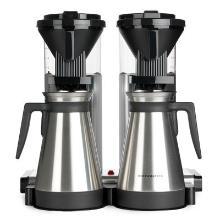 Kaffemaskine dobbelt Moccamaster CDGT20 Thermo Polished Silver product photo