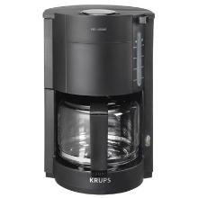 Kaffemaskine Krups 1050W 10 kopper 1.42 ltr Sort product photo