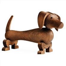 Gravhund Kay Bojesen 19x10.5 cm Valnøddetræ product photo