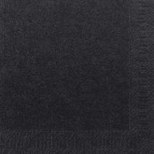 Serviet Finess 33x33 cm 3-lag Sort product photo