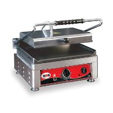 Klemgrill GMG 41x50x30 cm Grillareal 36x27 cm Rillet top/Glat bund 300C product photo