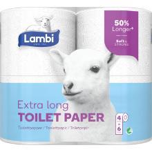 Toiletpapir Lambi Super Long 3-lag 31.9 m product photo