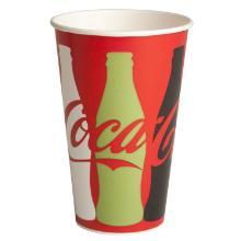 Papbæger 40 cl Coca Cola Ø90x130 mm uden Label på underpakning product photo