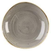 Skål Stonecast 110 cl Ø25.3 cm Organisk Porcelæn grå product photo