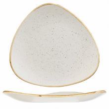 Tallerken Stonecast 19.2 cm Trekant Porcelæn Vanilje product photo