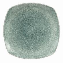 Tallerken Raku 21.5 cm Firkantet Porcelæn Topaz blå product photo