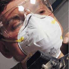 Maske støv 8710 P1 product photo