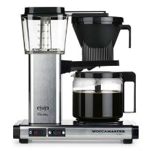 Kaffemaskine Moccamaster KBG962AO-PS Autosluk Polished Silver product photo