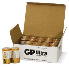 Batteri GP Ultra D 2-pak product photo