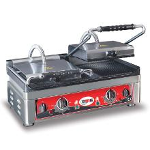 Klemgrill Dobbelt GMG 56x44x30 cm Grillareal 52x24 cm Rillet top/bund 300C product photo