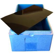 Plade 525x324x2 mm Mellemlæg Kraftig plast Sort til Termokasser product photo