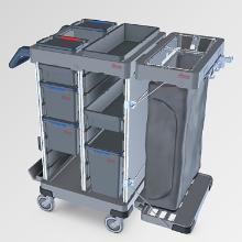 Rengøringsvogn Origo 2 CX Ready-to-Go product photo