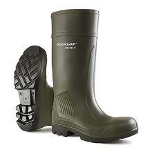 Gummistøvler Dunlop Purofort Professional str 38 Mørkegrøn/Sort sål product photo