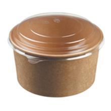 Bowle 1000 ml Ø149x76 155x20 mm Karton Brun product photo
