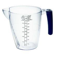 Målekande med hank 1 liter. SAN Klar product photo