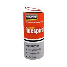 Insektbekæmpelse fluespiral med klæbemiddel til indendørs brug 4 stk product photo