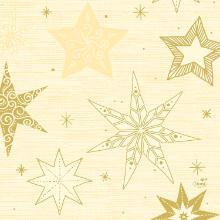 Serviet Duni 33x33 cm 3-lag Star Stories Cream product photo