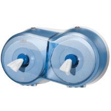 Dispenser toiletpapir Tork SmartOne T9 til 11971 blå dobbelt product photo