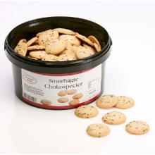Småkage Chokospecier - smørbagte 1000 gr product photo