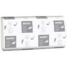 Håndklædeark Katrin Plus Zig-Zag 2-lag 22,4x23x11.5 cm Nyfiber Hvid product photo